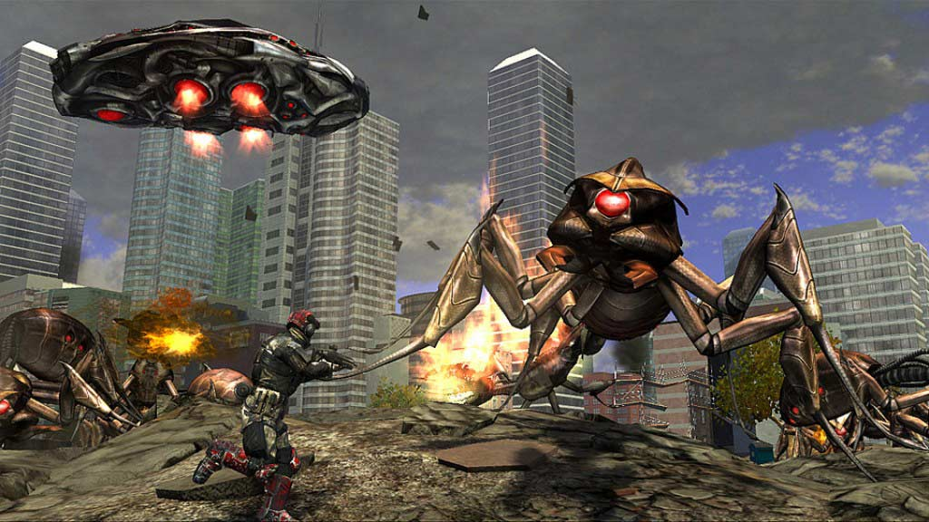 EDF Earth Defence Force best coop games best couch co-op
