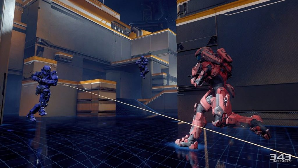 halo 5 multiplayer beta forge iron sights