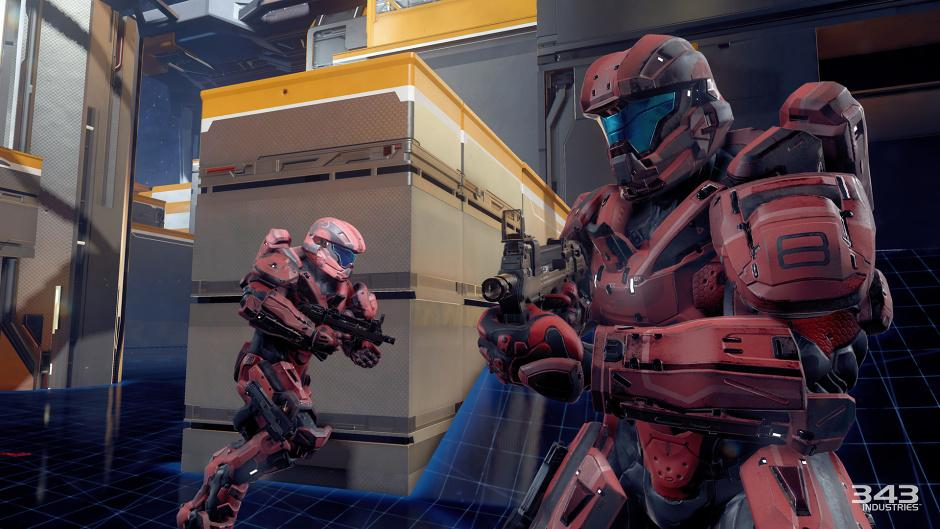 red team halo 5 multiplayer beta iron sights