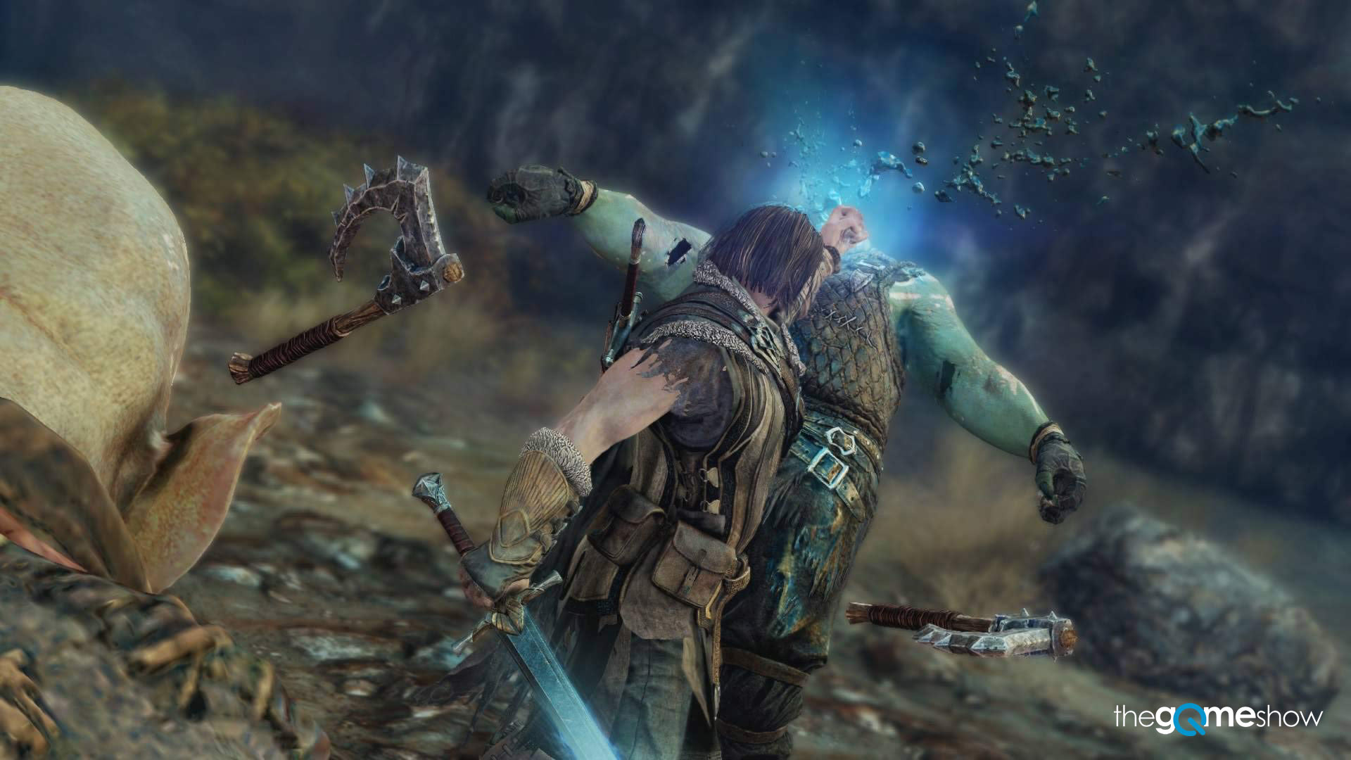 middle earth shadow of mordor wraith interrogate execution
