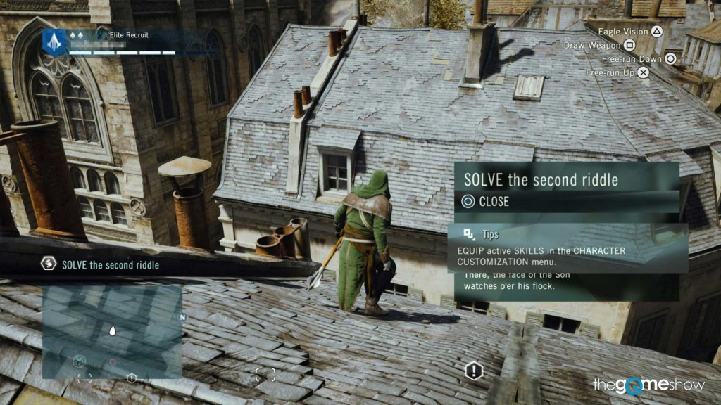 gui bugs in assassin's creed unity