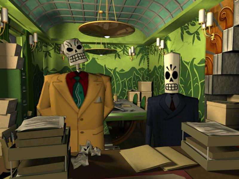 grim fandango remastered is a sought after video games in 2015