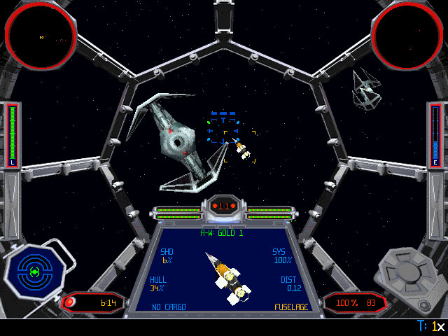 star wars x-wing tie fighter pc game series review