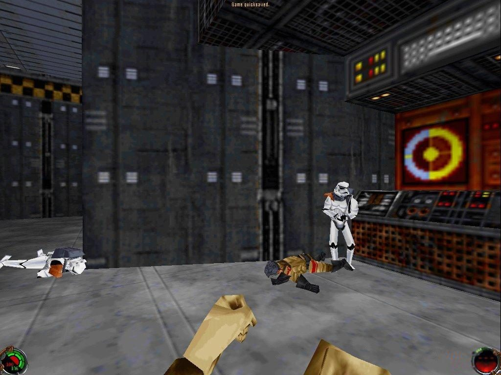 dark forces 2 jedi knight pc game